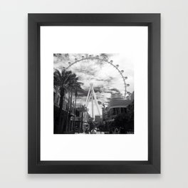 Linq'ed in Framed Art Print