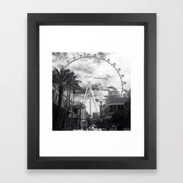Linq'ed in Framed Art Print