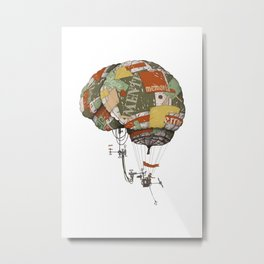 brain kludge Metal Print