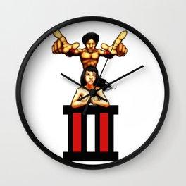 ATown Legends Wall Clock