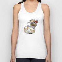thor Tank Tops featuring Thor by Alapapaju