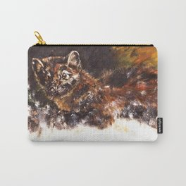 American pine marten in snow (c) 2017 Carry-All Pouch