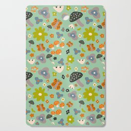 Mushroom Jungle Cutting Board