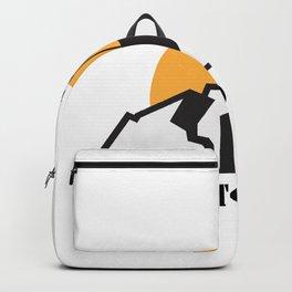 Born To Climb Gift Rock Climbing Backpack