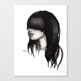 Bangz One Canvas Print