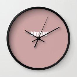 "Stranger ""Bitchin"" Things 2 Wall Clock"
