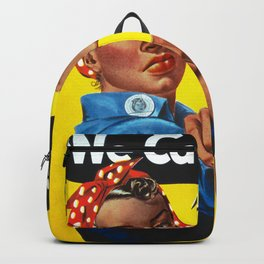Rosie The Riveter Vintage Ethnic Backpack