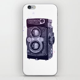 Yashica on Gradient iPhone Skin