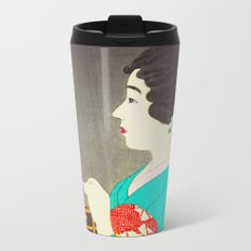Mushikago - Insect Cage - Japanese Art Metal Travel Mug