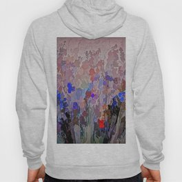 Absract Flowerscape Painting Hoody
