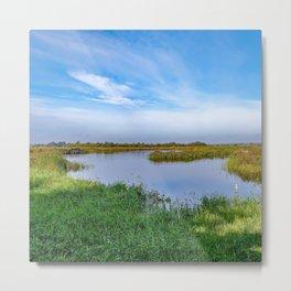 Norfolk marshes Metal Print