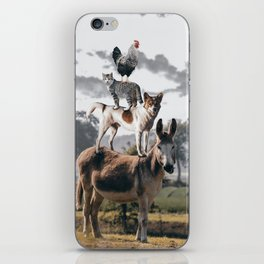 """The """"Town Musicians of Bremen"""" iPhone Skin"""
