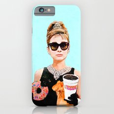 Breakfast at Dunkin Donuts - Audrey Hepburn Slim Case iPhone 6s