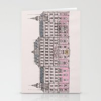 budapest Stationery Cards featuring Grand Budapest by Imogan T