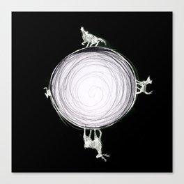 Marauders Moon Canvas Print