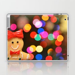 Gingerbread Bokeh Laptop & iPad Skin