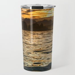 Gold Ocean Travel Mug