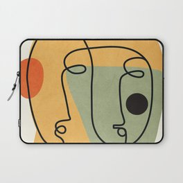 Abstract Faces 19 Laptop Sleeve
