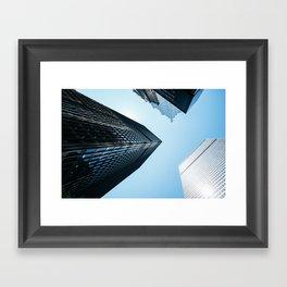 Sky High II Framed Art Print