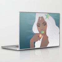 siren Laptop & iPad Skins featuring Siren by viviennart