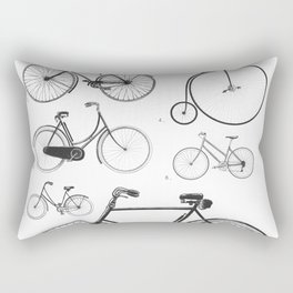 Collections - Bicyclettes Rectangular Pillow