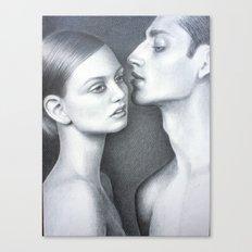 Est-ce que tu m'aimes? Canvas Print