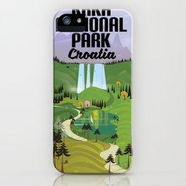 Krka National Park iPhone Case