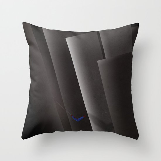 SMOOTH MINIMALISM - Spiderman Throw Pillow