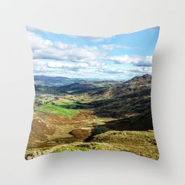 scafell pike Throw Pillow