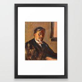 ILJA REPIN, PORTRAIT OF BORIS ALEXANDROVICH LAZAREVSKY. Framed Art Print