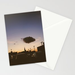 ominous cloud Stationery Cards
