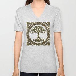 Celtic Tree of Life I Unisex V-Neck