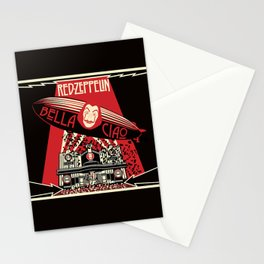 RED ZEPPELIN BELLA CIAO Stationery Cards