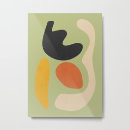 Abstract Shapes 40 Metal Print