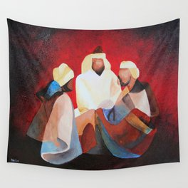 We Three Kıngs Wall Tapestry