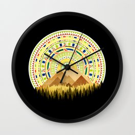 Disc Nature Wall Clock