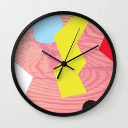 how much wood Wall Clock