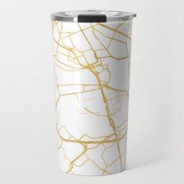 STOCKHOLM SWEDEN CITY STREET MAP ART Travel Mug