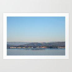 Sea Idyll 7821 Art Print