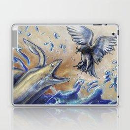 Eel vs. Pigeon Laptop & iPad Skin