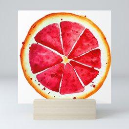 Grapefruit Mini Art Print