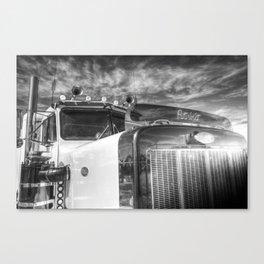 Large American Truck Canvas Print