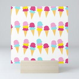 Princess Colour Pop Icecreams Mini Art Print