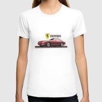 ferrari T-shirts featuring Ferrari 275  by kartalpaf