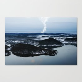 Ice Walkers Canvas Print