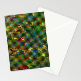 Camouflage Dots Stationery Cards