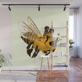 Bee Wall Mural