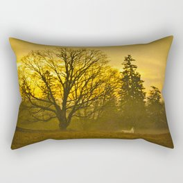 Beyond The Cemetary Rectangular Pillow