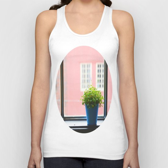 A little light for the plant Unisex Tank Top