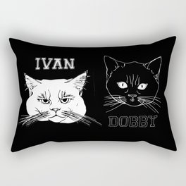 Ivan and Dobby Collegiate Inverse Rectangular Pillow